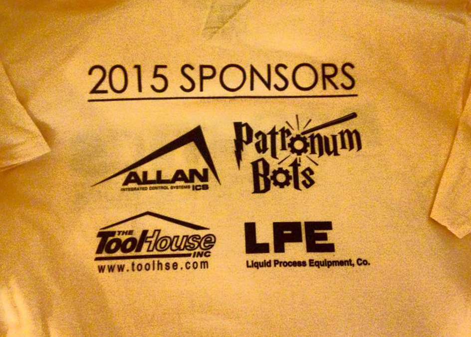 Allan-ICS sponsors robotics team